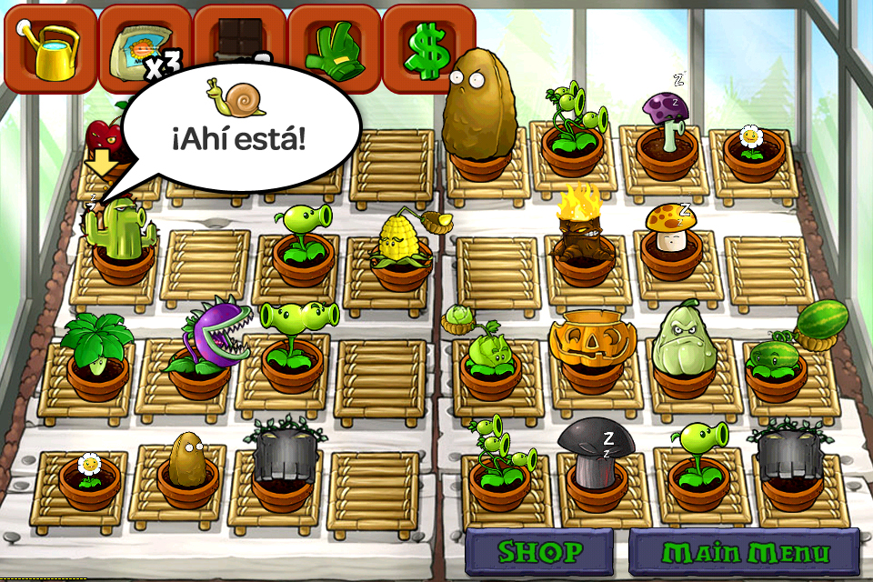 No encuentro a stinky el caracol en mi jard n zen d nde for Jardin zen plantas vs zombies