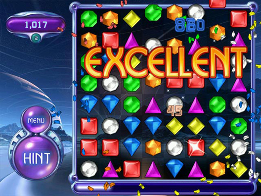 play bejeweled for free online