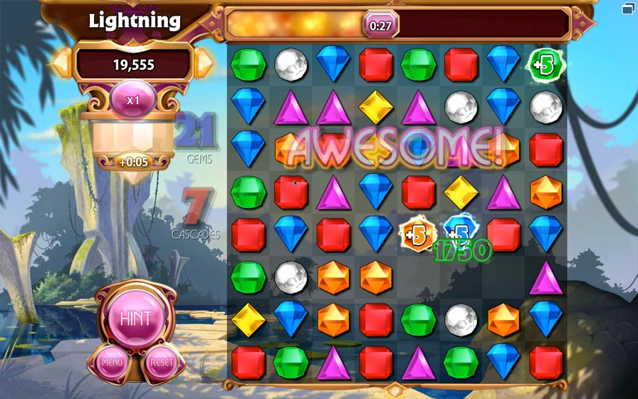 bejeweled match 3