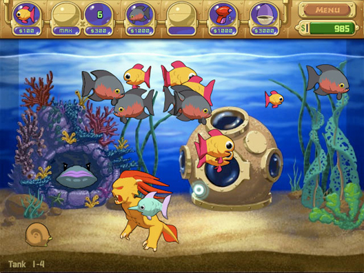 Fish tank games download insaniquarium 2017 fish tank for The fish game