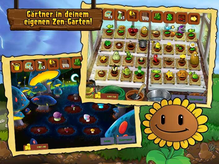 PopCap Games | Pflanzen gegen Zombies - iPad