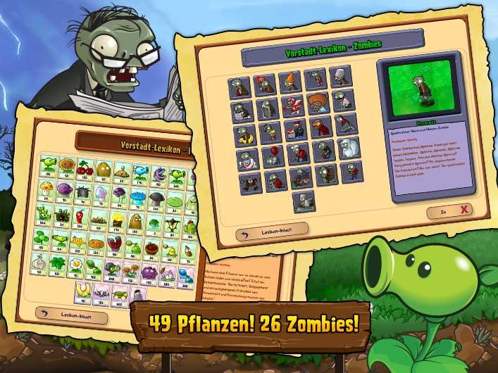 pflanzen gegen zombies level