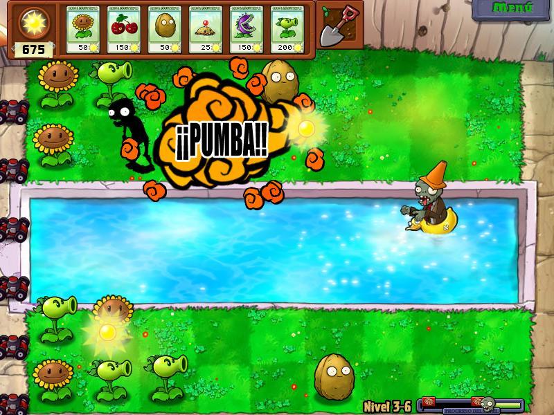 imagen Plantas Contra Zombis PC
