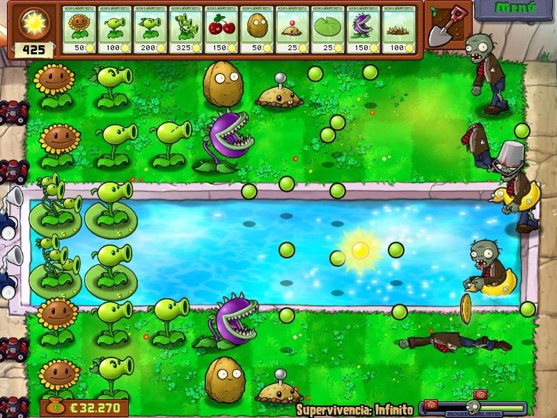 descargar el juego de plants vs zombies gratis completo