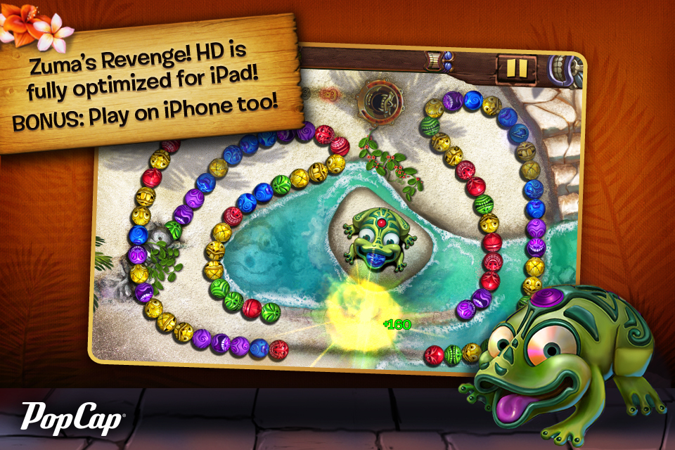 Zuma Is Back With A Vengeance And Available On iPad