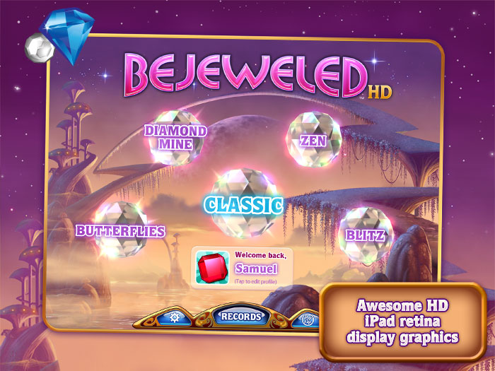 download free bejeweled for mobile