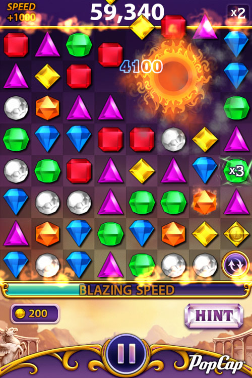 free facebook games bejeweled