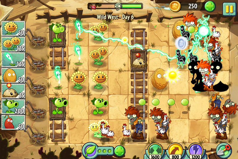 Plants vs Zombies Snap Shots
