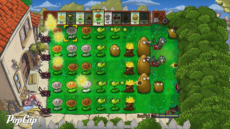 Plantas Vs Zombies Pc