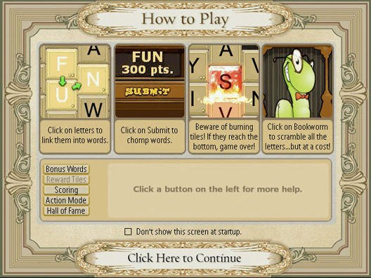 free game bookworm popcap