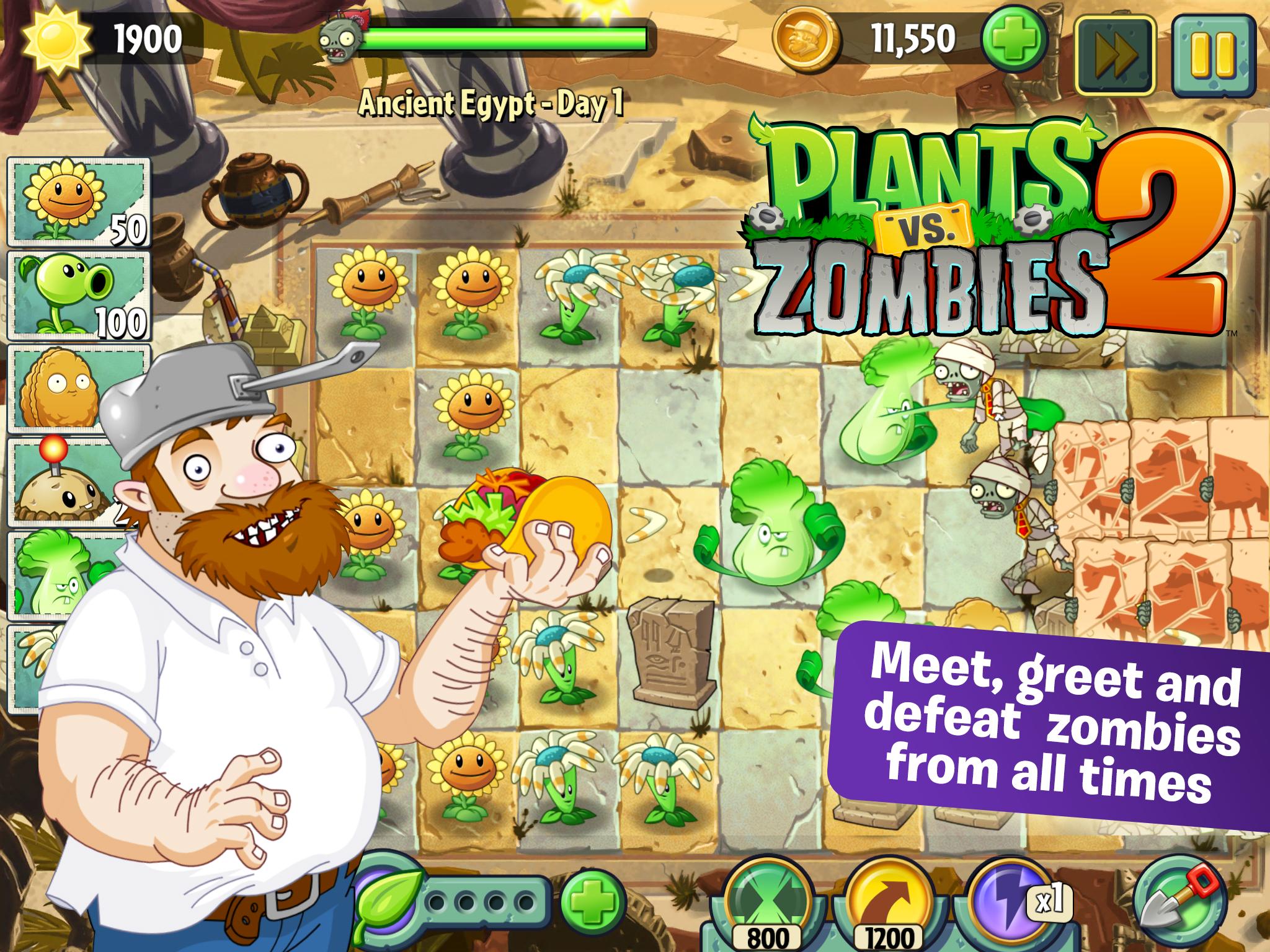 plants vs zombies 2 hacked all plants unlocked online